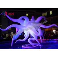 McQueen inflatable led light Decoration Adapter Blower quote CE / SGS Manufactures