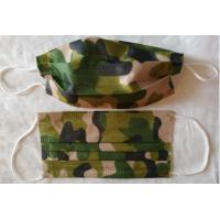 Fashion Military Utility Disposable Face Mask Spunlaced Non Woven For Men Adult Manufactures