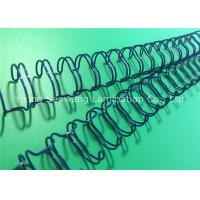 Wear - Resisting Double Loop Wire O , 23 Loops Twin Loop Wire Binding Manufactures