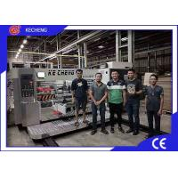 Fully Automatic Corrugated Carton Printing Machine with Slotting CE Certification Manufactures