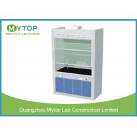 Chemical Resistance Laboratory Fume Hood / Fume Cupboard Anti - Corrosion Manufactures