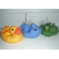 Personalized Floating Rubber Duck Bathroom Set Bath Toys For 3 Year Old  Manufactures