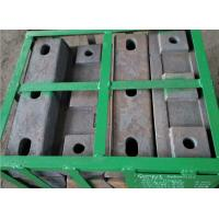 High hardness and wear resistant High Cr Alloy Steel Casting of Lifter Bar for Mill Parts Manufactures