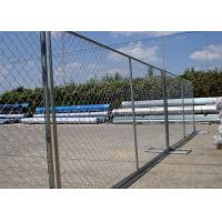 """8'x12' tubing 1⅜""""(35mm) x 16ga thickness chain link us standard temporary fencing 13ga/2.3m diameter Manufactures"""
