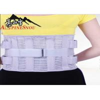 High Waist Support Belt With High Elastic Fish Silk Cloth And Steel Plates Manufactures