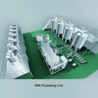 Electric control system and semi automatic PID control 500l - 20T/H Pasteurizer Plant Manufactures