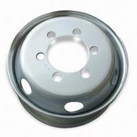 Truck Steel Wheel with 17.5mm Diameter and 125/127/136/134mm Offset Manufactures