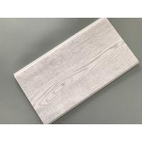 Smooth Tough Wood Laminate Wall Panels , Interior Pvc Cladding Panels Wooden Design Manufactures