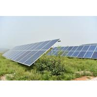 High Powder Aluminium Solar Panel Frame For Solar Mounting Systems ISO9001 Manufactures