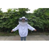 Round Veil White Bee Jacket with Round Hat of Beekeeping Protective Clothing Manufactures