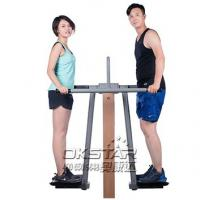 outdoor fitness equipment park wood double pendulum Manufactures
