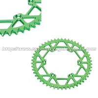 Buy cheap Strongest Dirt Bike Sprockets Motocross Kawasaki Lightweight Motorcycle Rear Sprocket from wholesalers