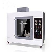 Plastic Wire Testing Equipment Horizontal Vertical Combustion Tester ZY6017 Manufactures
