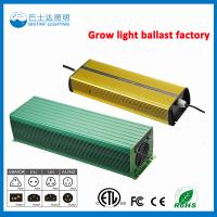 High Pressure Sodium Usage Electronic Ballast/1000W HPS Electronic ballast Manufactures