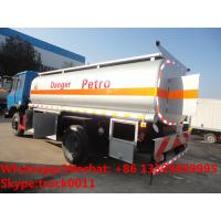 Quality Factory customized dongfeng 4*2 RHD 10,000L gasoline tank delivery truck for for sale