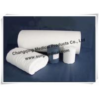 China 36 Width Cotton Bleached Absorbent Jumbo Gauze Roll For Medical Ambulances on sale