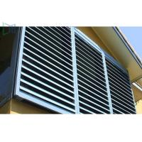 Quality Typical Airflow Aluminium louvre Windows For All Enclosed Spaces for sale