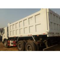 A7 Sinotruk Howo White Heavy Duty Dump Truck Ten Wheels 6 X 4 18M3 40 T