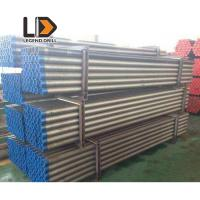 """Rock Blasting DTH Drill Pipe , Well Drilling Rods 114mm API 3 1/2"""" Reg Manufactures"""