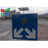 Quality Freestanding LED Solar Powered Sign Lights , Traffic Safety IP65 Commercial Solar Sign Lights for sale