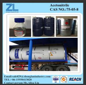 AcetonitrileCAS# 75-05-8 Manufactures