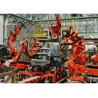 Industrial Fully Automated Welding Production Line PLC Control For Car Industry Manufactures
