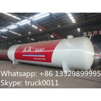 50 metric tons bulk surface lpg gas storage tank for sale, factory direct sale best price 120m3 propane gas storage tank Manufactures