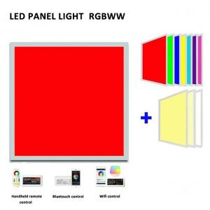 Indoor SMD5050 Rgb IP20 54W 72W Square Led Panel Light Manufactures