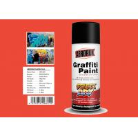 Engineering Orange Color High Gloss Spray Paint For Advertising Industry Manufactures