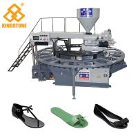 Single Color Rotary Sandal Making Machine For Plastic PVC Shoes Injection Moulding Manufactures