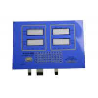 PET / Silicon Rubber Backlit Membrane Switch With LED for 3C Electronics Manufactures