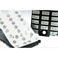 Silicone Push Button Flexible Numeric Keypad For Mobile Phone / Remote Controller Manufactures