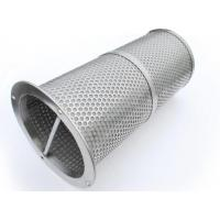 China stainless steel temporary strainers / Perforated Metal Temporary Filters on sale