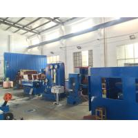 Customized Power Source Drum Copper Wire Drawing Machine 17DST With Double Spoolers Manufactures