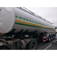 Buy cheap Front Axle Air Suspension with Lift Four Axle Oil Semi - Trailer from wholesalers