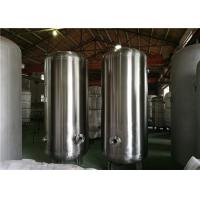 Horizontal Pressure Vessel Design Gas Storage Tanks , Stainless Steel Pressure Tank Manufactures