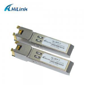 China RJ45 Port HL-SFP Optical Transceiver Module 1000 BASE -T SFP Gigabit Interface Converter on sale