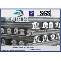 GB6KG GB9KG GB12KG Steel Crane Rail / Gantry Crane Track For Railway Construction Manufactures