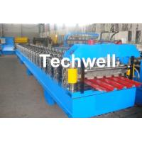 IBR Roofing Sheet Roll Forming Machine / IBR Panel Forming Machine For Making Roof Wall Cladding