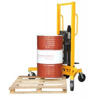 400Kg Load And 1m Lifting Height Eagle-gripper Type Hydraulic Drum Stacker Manufactures
