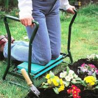 Folding Garden Kneeler Seat , Portable Garden Kneeling Stool Convenient Function Manufactures