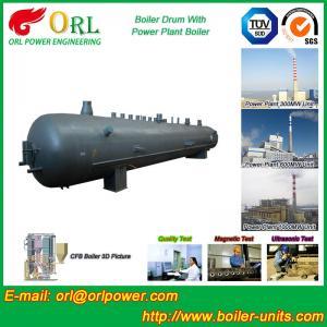 Oil Industry Heating Boiler Mud Drum , Compact ASTM Mud Drum In Boiler Manufactures