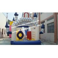 Playground Equipment 0.55mm PVC Tarpaulin Inflatable Water Trampoline Combo Bouncer Manufactures
