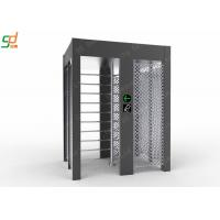 Single Lane Full Height Turnstile , Controlled Access Airport Turnstile Security Solutions Manufactures