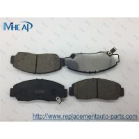Auto Brake Pad Set Front Axle 45022-SDD-A00 Honda Accord Civic FR-V Odyssey Stream Acurate Manufactures