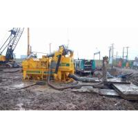 Buy cheap RMT200 Drilling Mud Desander Mini Bored Piling Machine Mud Desilter Cut Point 0 from wholesalers