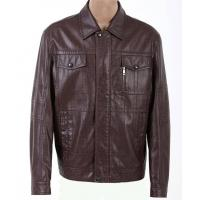 Customized European, Smart, Casual, Designer and Lightweight Leather Jackets for Men Manufactures