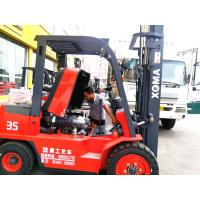 Easy Operated 3.5ton Diesel Forklift Truck With 2 Stage 3 Meter Lifting Mast Manufactures
