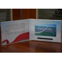 China Creative Video marketing technology 7inch HD lcd  video brochures video in printing touch screen optional on sale