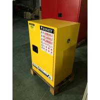 Chemical Flammable Safety Storage Cabinets 12 GAL For Hazardous Material Manufactures
